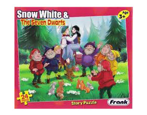 PP0049 Snow White & The Seven Dwarfs Puzzle