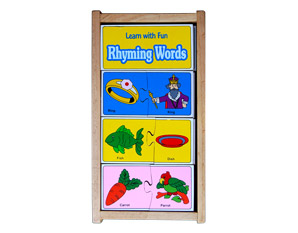 PP0050 Learn with Fun Rhyming Words