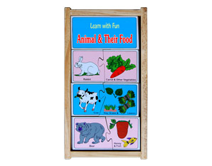 PP0051 learn with fun animal & their food