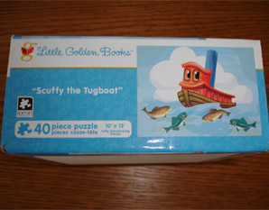 PP0052 Scuffy the Tugboat Puzzle