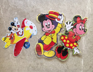 PP0110 Mickey & Minnie Mouse Lacing Kit