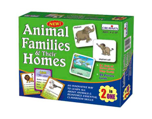 PP0190 Animal Family and their homes