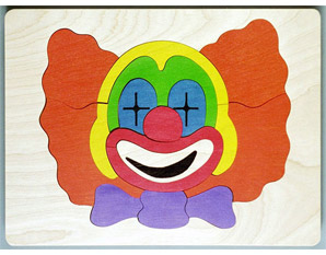 PP0203 Clown Puzzle