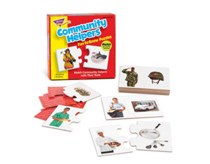PP0204 Community Helpers Puzzle