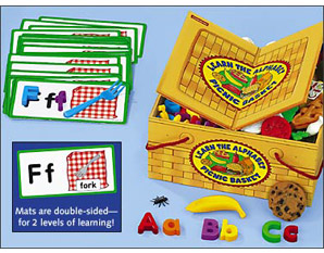 PP0024 Learn the Alphabet Picnic Basket