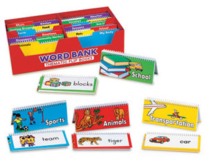 PP0026 Word Bank Thematic Flip Books