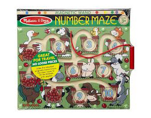 PP0080 Magnetic Wand Number Maze