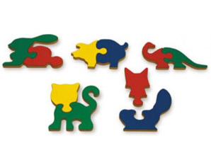 PP0121 Shaped Animal Puzzle