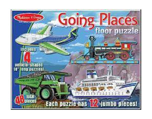 PP0137 Going Places Floor Puzzle