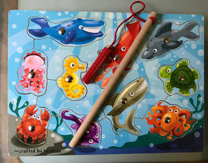 PP0188 Fishing Magnetic puzzle