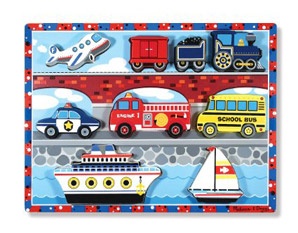 PP0198 Vehicles Wooden Puzzle