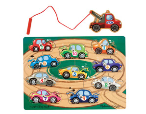 PP0220 Magnetic Cars Puzzle