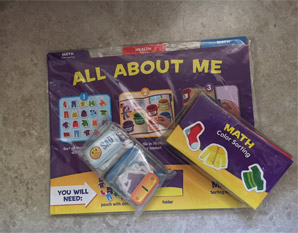 PP0230 All About Me Early Learning Folder Game