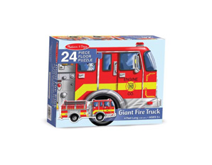 PP0256 - Giant fire truck puzzle