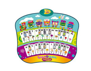 TD0037 Zippy Touch and Learn Playmat