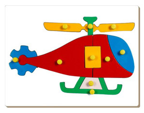 TD0047 Helicopter Puzzle