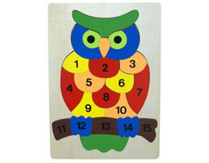 TD0095 Owl Number Puzzle