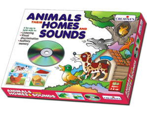 TD0100 Animals their Homes and Sounds