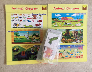 TD0129 Animals Kingdom