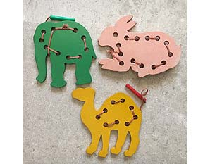 TD0144 Animals Lacing Kit
