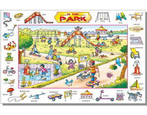 TD0153 In The Park Puzzle