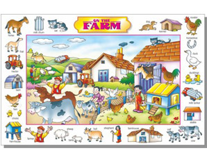 TD0154 On The Farm Puzzle