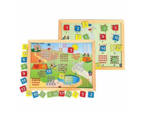 TD0236 Wooden number learning